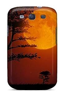 Tpu JenniferCools Shockproof Scratcheproof Super Moon Hard Case Cover For Galaxy S3