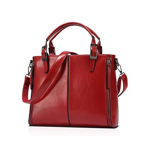 Mujer Audburn Mujer Bolso Ligera Rojo De Para Viaje Mensajero Moda Casual Bandolera Mochila x6xwIpZ