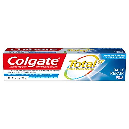 Colgate Total Toothpaste, Daily Repair, 5.1 Ounce