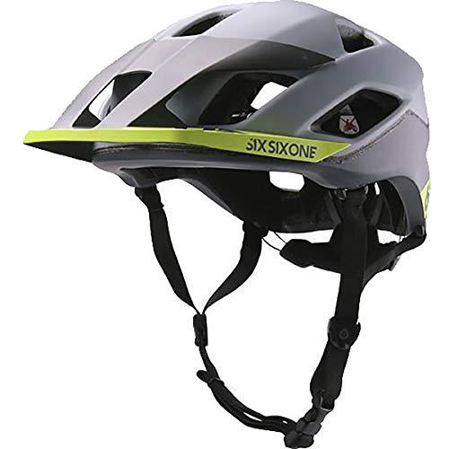 (SixSixOne - Evo Am Patrol Bike Helmet with MIPS, CPSC, Matte Gray, X-Large/XX-Large)