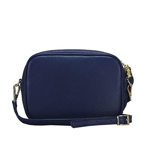 Bleu Violaine Cuir Pochette Pochette Cuir qwx6ZgUI