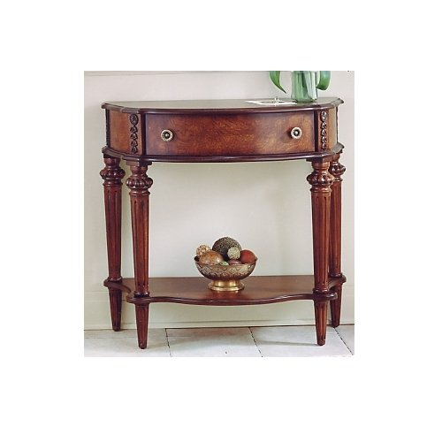 Butler Specialty Coffee - Butler Specialty 0589024 Console Entry Table, Plantation Cherry