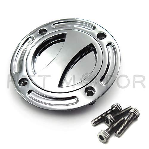 - HTT Group Motorcycle Chrome Keyless Gas Cap Twist Off Fuel Tank Cap For 1997-2003 Suzuki GSX-R 600/ 1996-2003 GSX-R 750/ 2001-2002 GSX-R 1000/ 1999-2007 Suzuki Hayabusa/ SV 650/ TLR 1001R