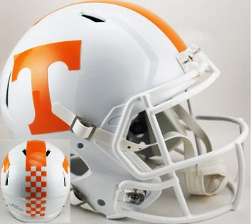 Riddell NCAA Tennessee Volunteers Authentic Speed Full Size Football Helmet