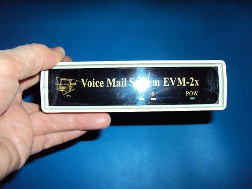 DataLabsUSA Voice Exec EVM-2xv+ Ultimate Answering Machine System with Voice Mail / Auto Attendant and is now Vonage Comcast and all lines Compatible w/ remote extension capability - Exec Telephone