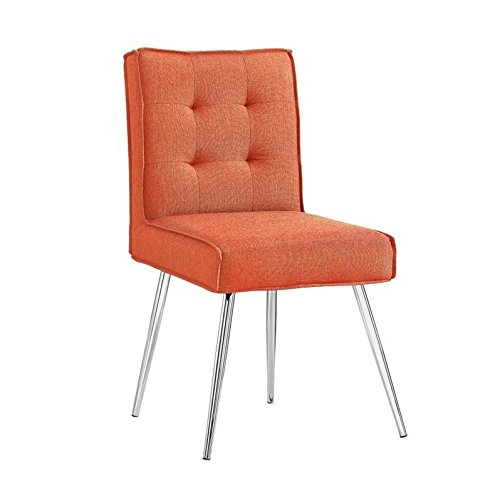Dining Chair in Orange - Set of 2