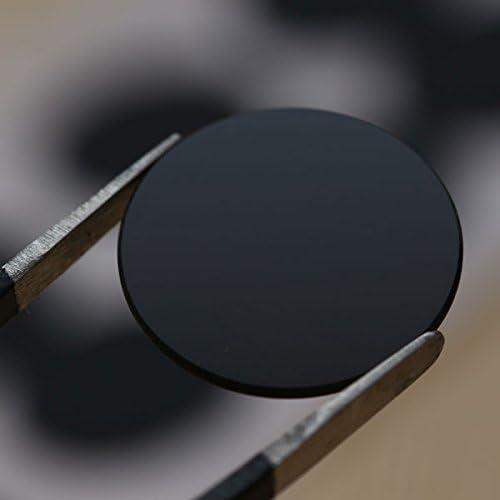 365nm UV Flashlight Visible Filter Lens 1pcs