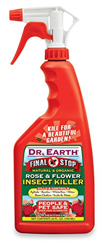 Price comparison product image Dr. Earth 8008 Ready to Use Rose and Flower Insect Killer, 24-Ounce