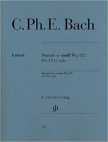 Learned Bach Cpe Sonata Amin Wq132 Flute Solo Contemporary Wind & Woodwinds