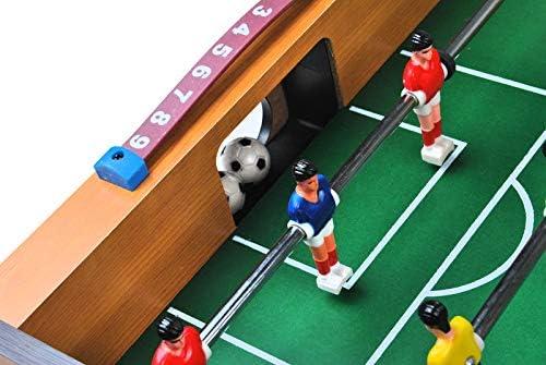 ISO TRADE Juego de futbolín Grande - Juego de fútbol para 18 ...