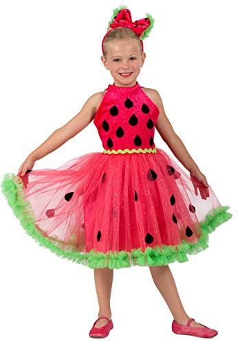 Princess Paradise Watermelon Miss Child's Costume, X-Small -