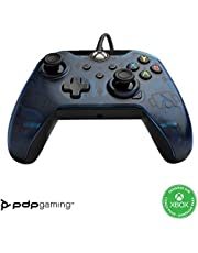 PDP Gaming Wired Controller: Midnight Blue - Xbox Series X S, Xbox One, PC