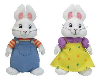 Ty Beanie Baby Max & Ruby Set - Ruby Baby Beanie Ty