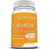 Best Turmeric Curcumin With Bioperine Naturals - Turmeric Curcumin by Science Natural Supplements 1300mg | Review