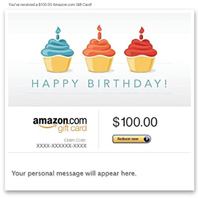 Amazon Gift Card - E-mail - Birthdays
