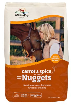 Bite-Size Nuggets Horse Treats by Manna Pro Corp (Image #1)