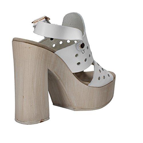 SUKY BRAND Mujer zapatos con correa Bianco