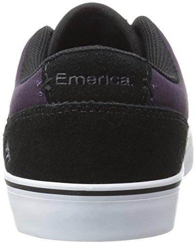 Emerica The Herman G6 Vulc, Color: Black/Purple, Size: 41 EU / 8 US / 7 UK