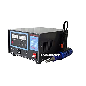 Portable Ultrasonic Plastic Welding Machine 800W High Power Ultrasonic Spot Welder Digital Display