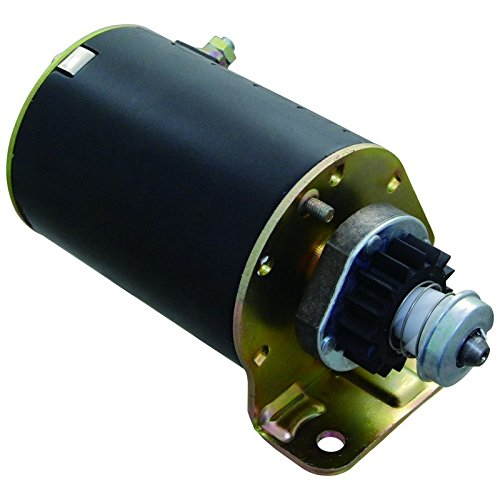 New Starter Motor For Briggs & Stratton 7 8 10 11 12 12.5 16 18 HP Engines 1972-2002 90838 391423 392749 (Tooth Starter Motor)