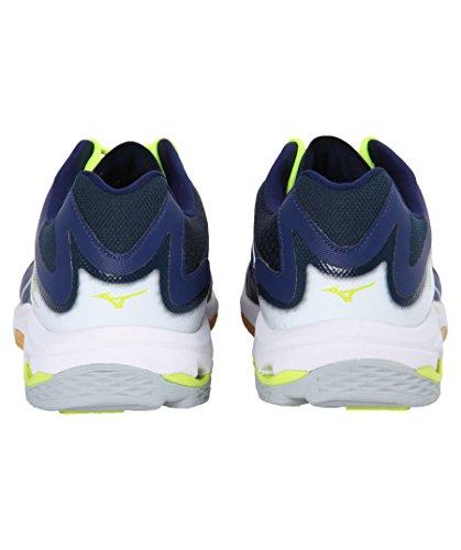 Bleu Voleibol Wave Para blanc Lightning Hombre De Mizuno Z3 Zapatos jaune 7Hw8q