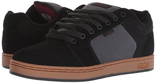 Fonc Etnies Gomme Xl Barge Gris Homme Skate Chaussures Noir De UAq844