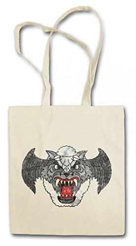 AIRWOLF PATCH Hipster Bag Beutel Stofftasche Einkaufstasche