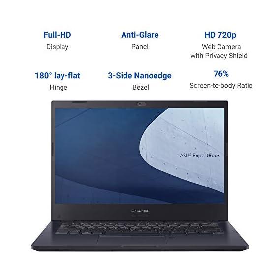 ASUS ExpertBook P2 (P2451FB) 14 inch Notebook( i5-10210U,8GB,1TB 72R,DOS ) P2451FB-EK0058