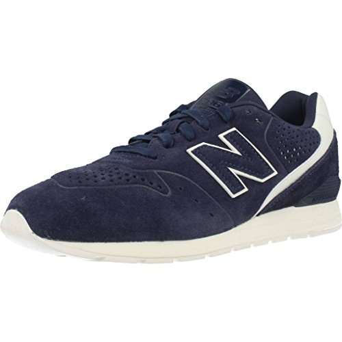 New Balance 996 Leather, Sneaker Uomo Blu