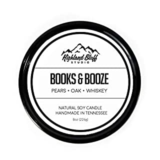 Books to The Ceiling Scented Tin Candle