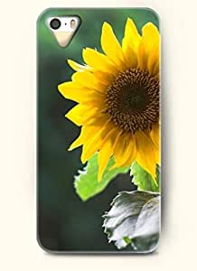 OOFIT phone case design with Sunflower towards the sun for Apple iPhone 4 4s