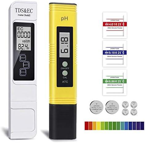 Probador de Medidor PH TDS Tester TDS EC Temperatura PH Medición de Agua Digital para Agua Potable Doméstica 1