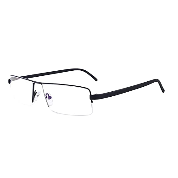 Zhhlaixing Fashion Lightweight Half-frame Style TR90 Lesehilfen Lesebrille Reading Glasses Herren Anti-fatigue für Readers 54X49meAb