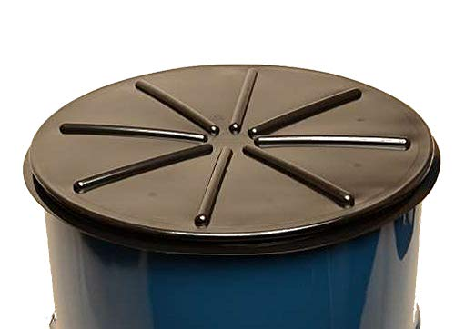 Black, 55 Gallon Tight-Head Polyethylene Drum Covers