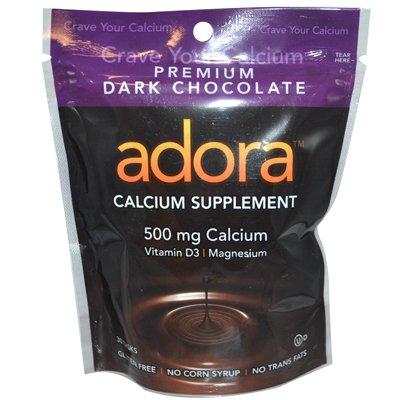 Adora - Choc Disk Drk Calcium 30 CT (Pack Of 12) - Pack Of 12