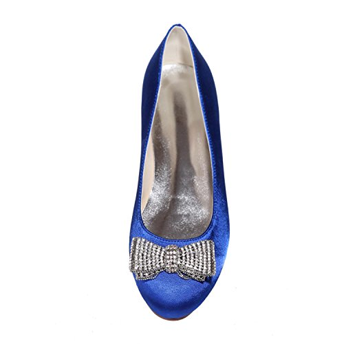 L@YC Women's Wedding Shoes Round Head/Flat/Party Night 9872-25 & More available Colors Gray HKeBHg