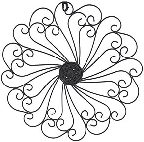 picture of GetSet2Save FBA_COMINHKG068413 Iron Wall Medallion (Black) by, Approx. 16-1