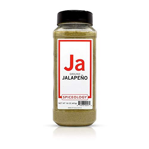 Jalapeno Powder - Jalapeno Powder - Spiceology Ground Dried Jalapeno Pepper - 16 ounces