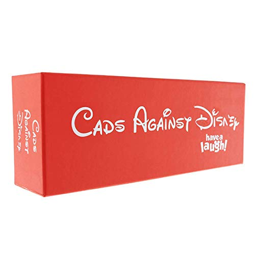 CADS Games Against Disney The Table Cards Game Party Cards Game for Adult (Red Box) from Continue Games