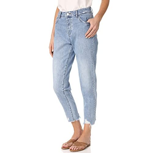 Cheap DL1961 Women's Goldee High Rise Tapered Jeans hot sale