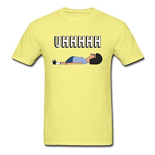 Tina UHHHHH Mens T-shirt T Shirt Yellow Xx-large