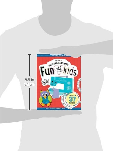 The Best of Sewing Machine Fun for Kids: Ready, Set, Sew - 37 Projects & Activities by C&T Publishing / FunStitch Studio (Image #2)