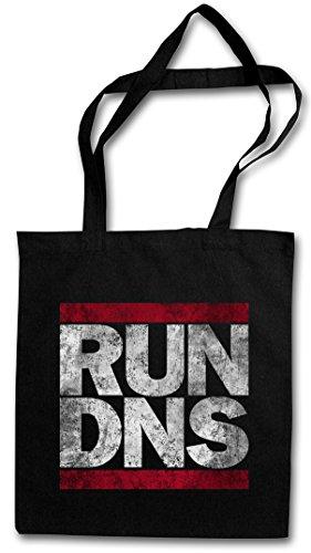 RUN DNS Hipster Bag Beutel Stofftasche Einkaufstasche