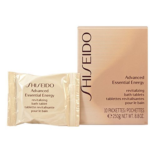 Shiseido Advanced Essential Energy Revitalizing lets Bath Tablets for Unisex, 10 Count