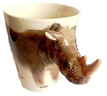 Tasse Rhinoserus 3d Ceramique Vaisselle Animaux Mug wXZ8PNnO0k