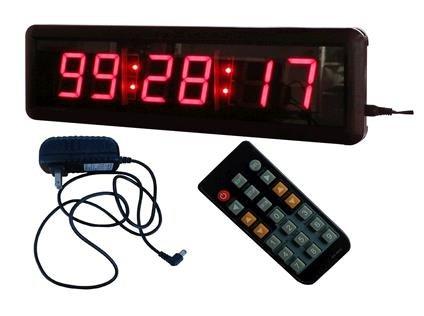 """Reloj Digital LED de goodreliish 1,8 """"alta Character 12/24 horas"""