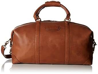 Amazon Com Allen Edmonds Men S Duffle Bag Tan Saddle