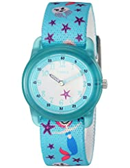 Timex Girls TW7C13700 Time Machines Analog Teal Sea Elastic F...