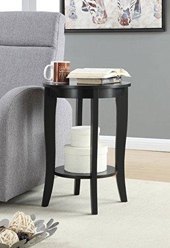 Convenience Concepts 7106259ES American Heritage Accent End Table, Espresso (Espresso Accent Table)