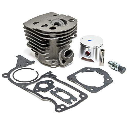 (46MM Cylinder Piston Kit & Gaskets for Husqvarna 51 55 Chainsaw )